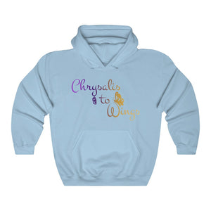 Chrysalis to Wings Unisex Heavy Blend™ Hooded Sweatshirt