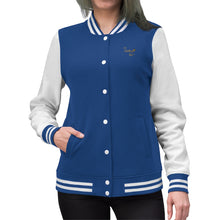 Load image into Gallery viewer, The Butterfly Effect Women's Varsity Jacket