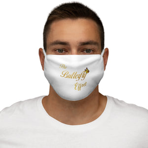 The Butterfly Effect Snug-Fit Polyester Face Mask