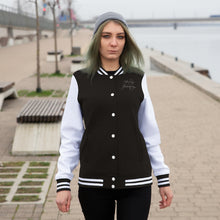 Load image into Gallery viewer, Healing is a Journey (White) Women's Varsity Jacket