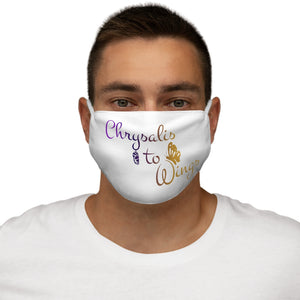 Chrysalis to Wings Snug-Fit Polyester Face Mask