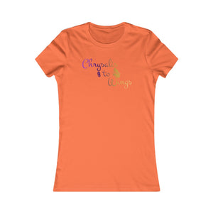 Chrysalis to Wings Women's Favorite Tee