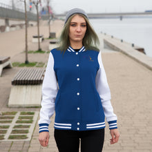 Load image into Gallery viewer, Chrysalis to Wings Women's Varsity Jacket