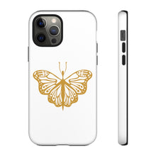 Load image into Gallery viewer, Butterfly (Gold) Tough Cases