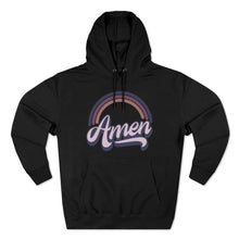 Load image into Gallery viewer, Amen (purple) Unisex Premium Pullover Hoodie