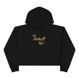 The Butterfly Effect Crop Hoodie