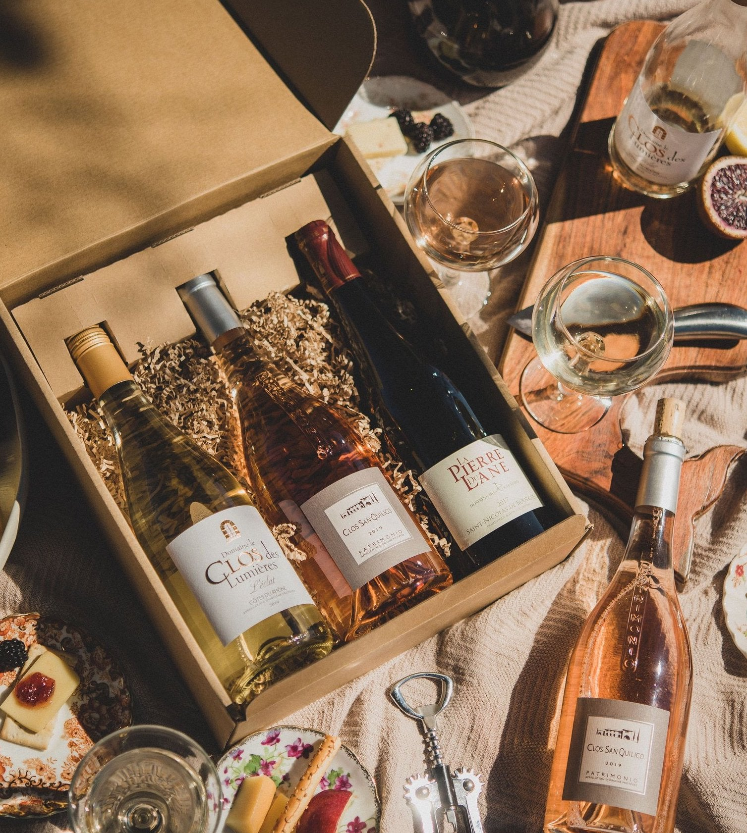 Curated Wine Boxes - Mirabelle Selects