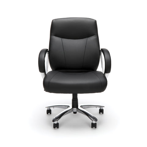OFM Avenger Series Model 811-LX Leather Mid-Back Big and Tall Executive Chair