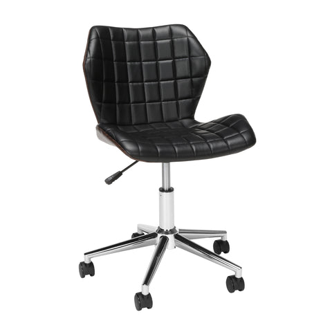OFM Essentials Collection Bonded Leather Task Chair, Office Chair (ESS-6006)