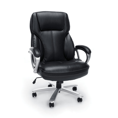 Essentials by OFM ESS-202 Big and Tall Leather Executive Office Chair with Arms