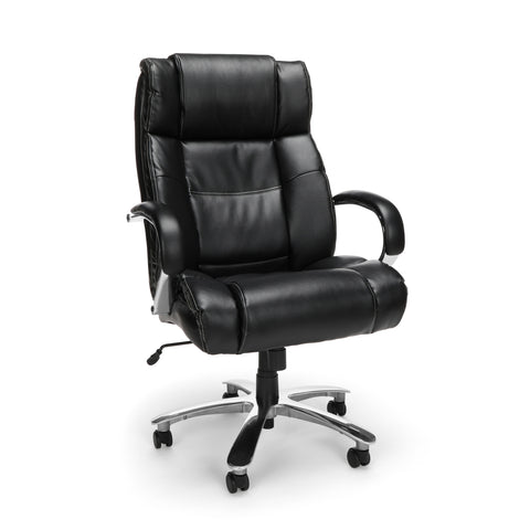 OFM Avenger Series Big and Tall Bonded Leather Executive Office Chair (810-LX)