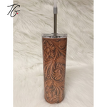 Copy of 20 oz Tumbler - Leather and Lace Design (5796563189912)