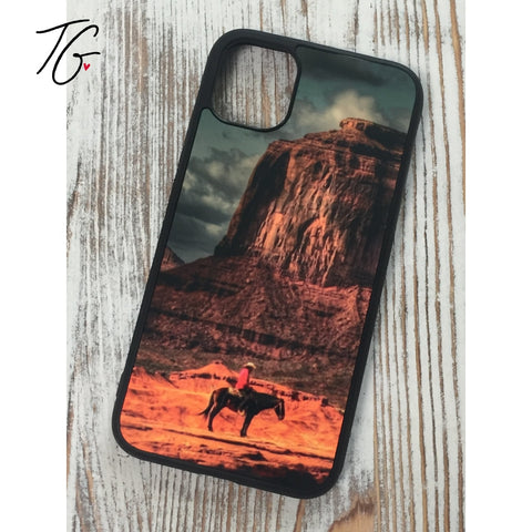 Cowboy Rubber iPhone Case (5796706353304)