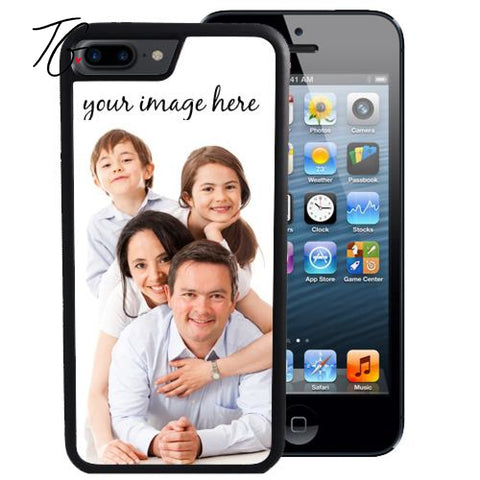 Custom Image Rubber iPhone Case (5796938285208)