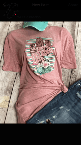 Desert Barbie Pink T-Shirt (6640212017304)