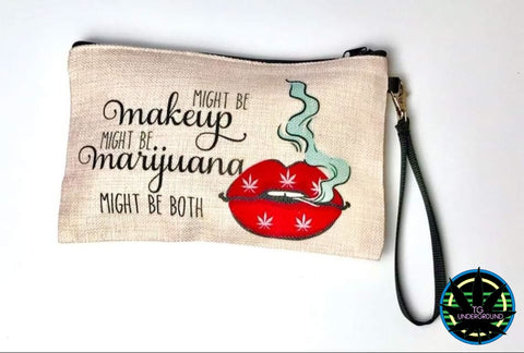 Funny Humorous Makeup Bag (6222533132440)