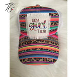 Hey Girl Hey! Serape Leopard Hat (5791478022296)