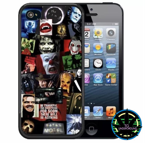 Horror Movie Collage iPhone Case (6256582459544)