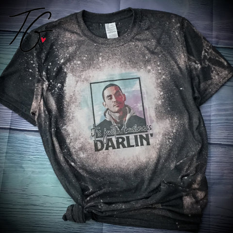 It's Business Darlin Bleach T-Shirt (6591855886488)