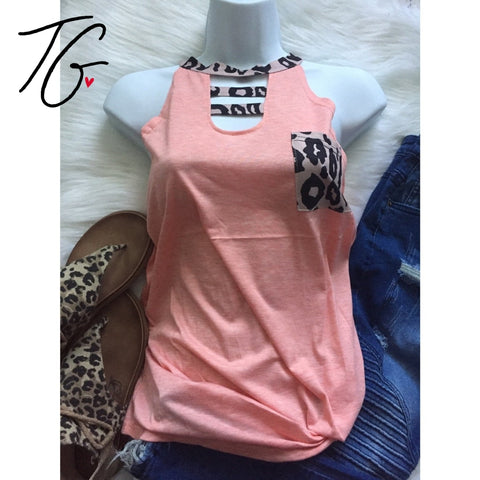 Pink Leopard Pocket Top (5675524587672)