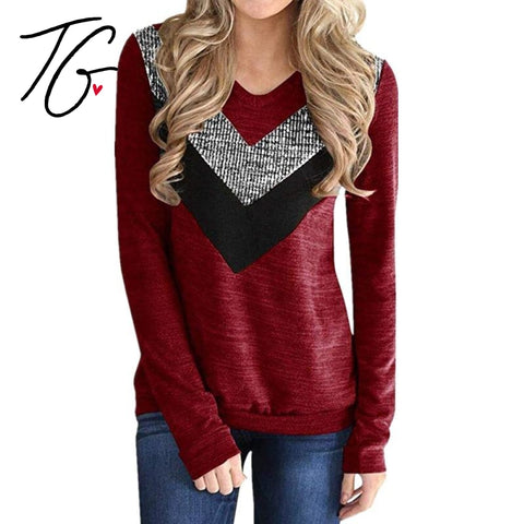 Red Long Sleeve Top (PO) (5797082988696)