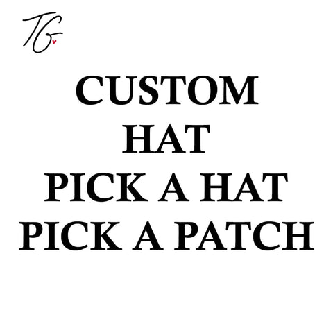 Custom Hat Custom Patch (5831286980760)