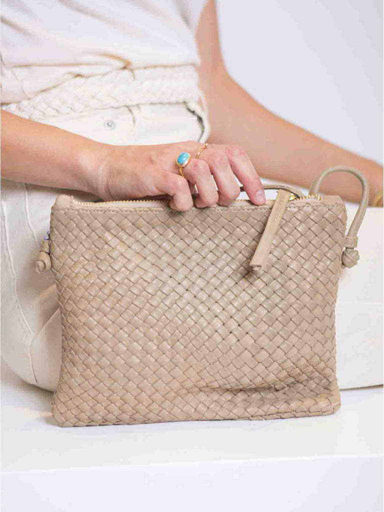 Sac en cuir uni PURSE