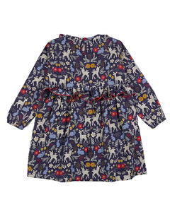 Animals Woven Dress