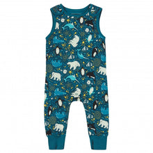 Load image into Gallery viewer, Piccalilly Artic Print Dungarees
