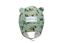 Load image into Gallery viewer, Flapjack Kids - Waterproof Bear Hat Back view
