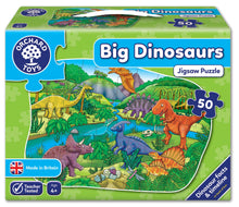 Load image into Gallery viewer, Orchard Toys Big D|inosaurs Jigsaw Puzzle Box