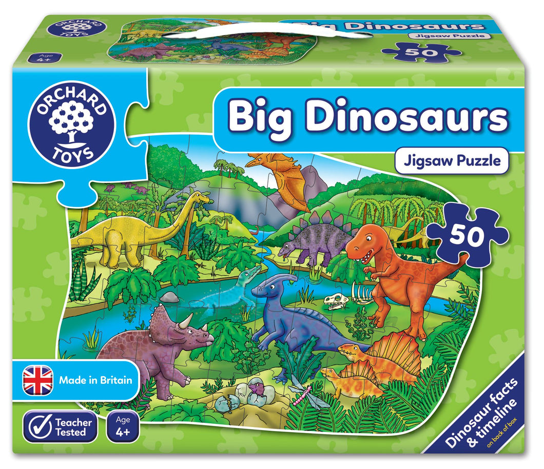 Orchard Toys Big D|inosaurs Jigsaw Puzzle Box