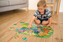 Load image into Gallery viewer, Orchard Toys Big D|inosaurs Jigsaw Puzzle  Lifestyle