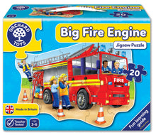 Load image into Gallery viewer, Orchard Toys Big Fire Engine Jigsaw Puzzle Box