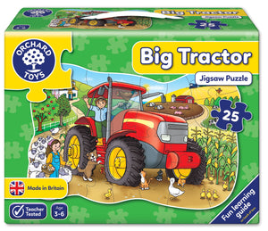 Orchard Toys Big Tractor Jigsaw Puzzle Box