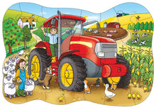 Load image into Gallery viewer, Orchard Toys Big Tractor Jigsaw Puzzle