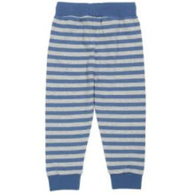 Load image into Gallery viewer, Kite Stripy Joggers Navy Back