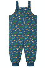Load image into Gallery viewer, Frugi Parsnip Dungarees - Bug Life Front