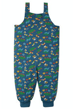 Load image into Gallery viewer, Frugi Parsnip Dungarees - Bug Life Back