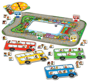 Orchard Toys Bus Stop Game Contents