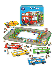 Orchard Toys Bus Stop Game Box & Contents