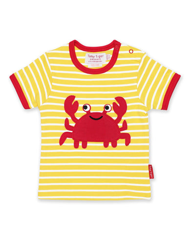 Toby Tiger - Crab Applique Top