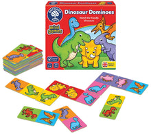Load image into Gallery viewer, Orchard Toys - Dinosaur Dominoes Game