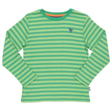 Kite - Dino Stripe T-Shirt Front