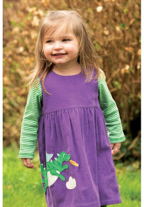 Frugi Lilly Cord Dress - Dragon, Lifestyle