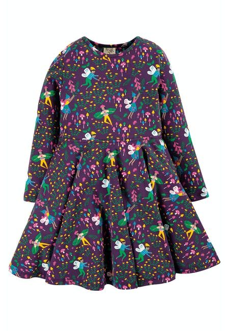 Sofia Skater Dress - Fairy Friends