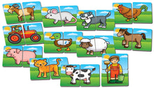 Load image into Gallery viewer, Orchard Toys Farmyard Heads and Tails Game Cards