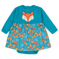 Load image into Gallery viewer, Piccalilly Fox Baby Body Dress