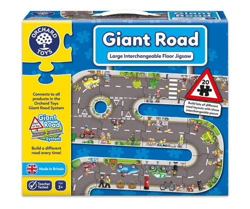 Orchard Toys Giant Road Puzzle Box