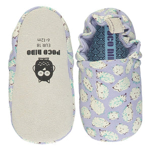 Poco Nido - Hedgehog Purple Mini Shoes